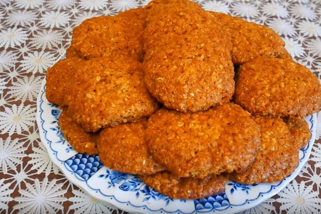Вівсяне печиво на кефірі