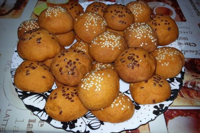 Печенье на кефире с медом