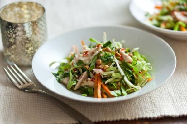Салат з пекінської капусти без майонезу