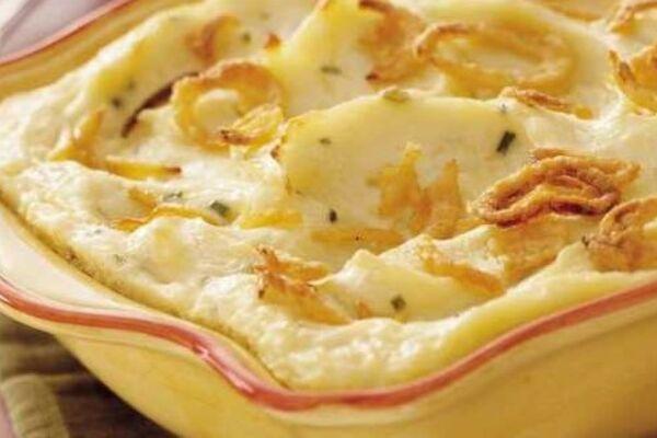 Картошка в духовке со сметаной