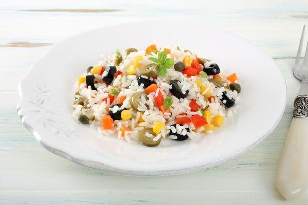 Салат з рисом