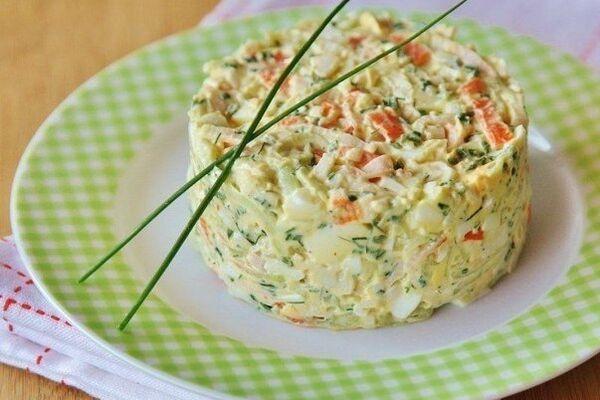 Салат з сиром