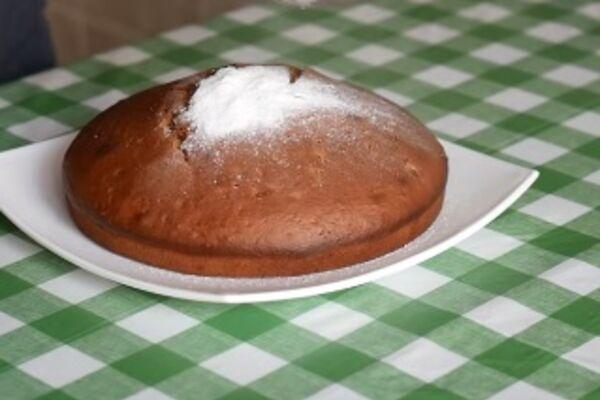 Заливной пирог с вареньем
