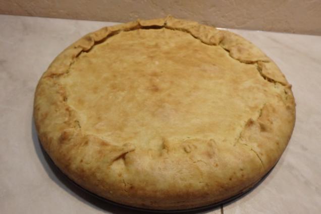 Цибулевий пиріг із сиром