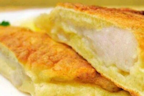Минтай в кляре с сыром