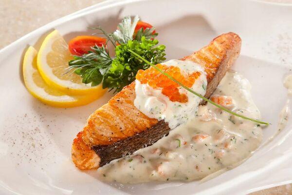Риба у вершковому соусі