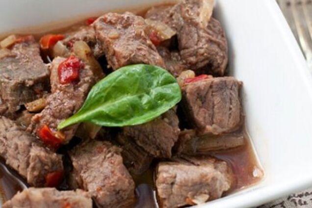 Смажене м'ясо в мультиварці