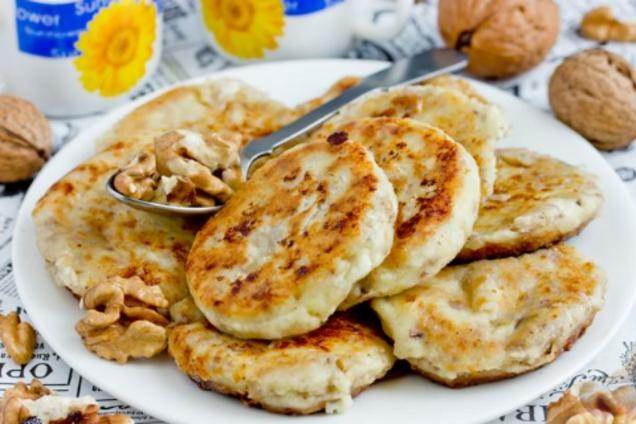 Сырники с орехами по-белорусски