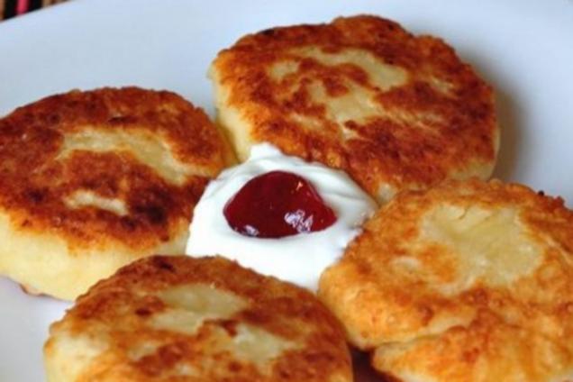 Сырники с содой