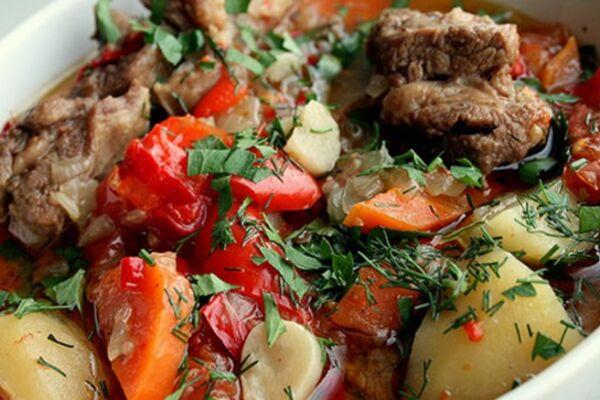 Буглама с картошкой