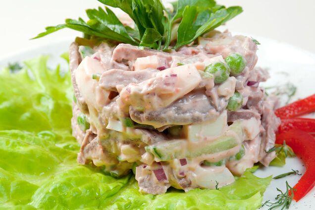 Салат из легких