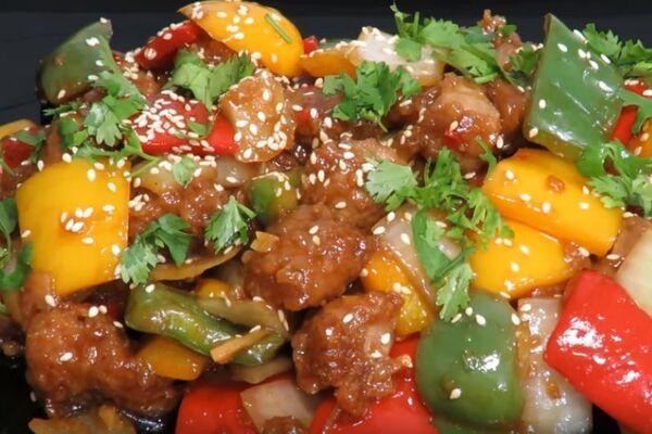 Смажена яловичина по-китайськи