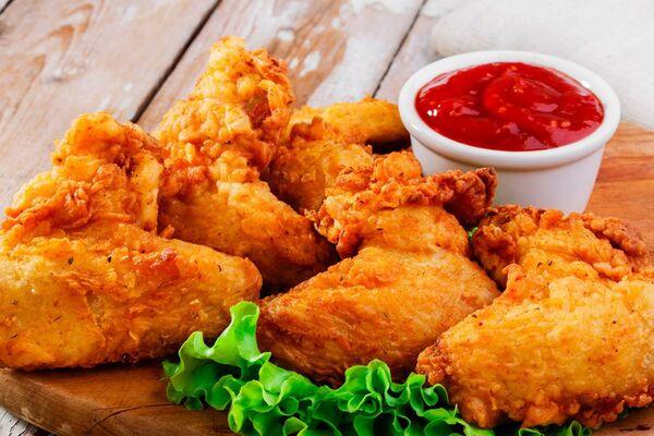 Жареное куриное филе в кляре
