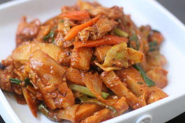 Смажене куряче філе по-корейськи
