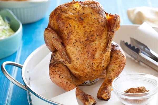 Курица на банке классическая
