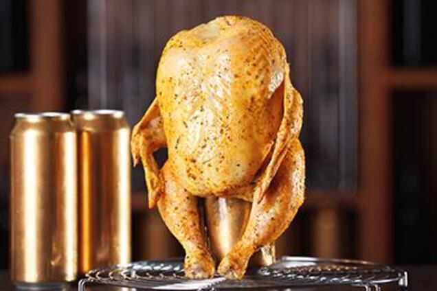 Курица на банке с паприкой и картошкой