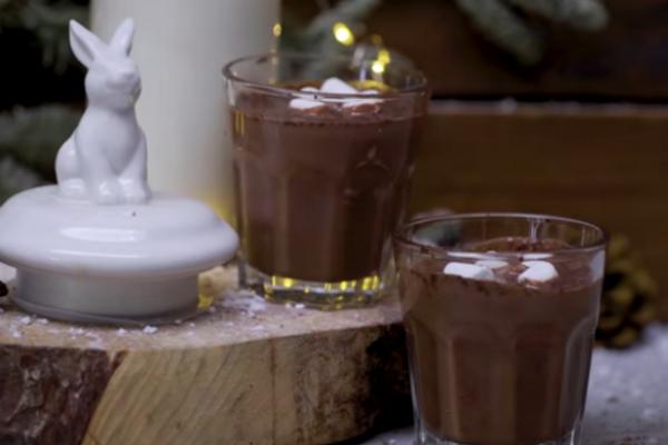 Гарячий шоколад із вином