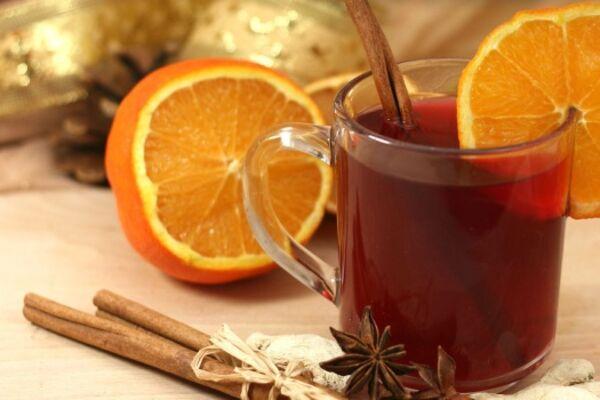 Глінтвейн з апельсином