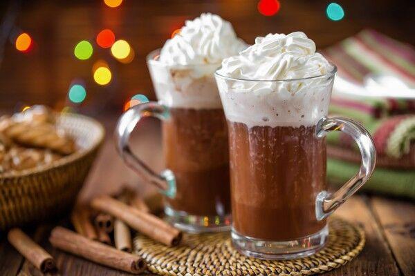 Гарячий шоколад із льодом