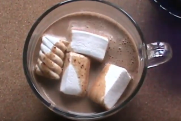 Гарячий шоколад із медом