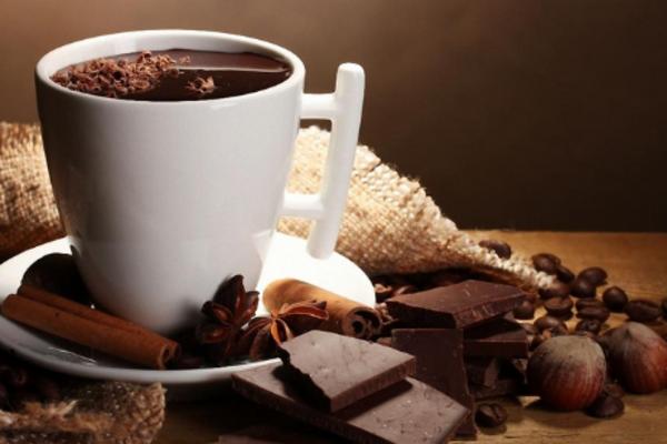 Гарячий шоколад із маслом какао