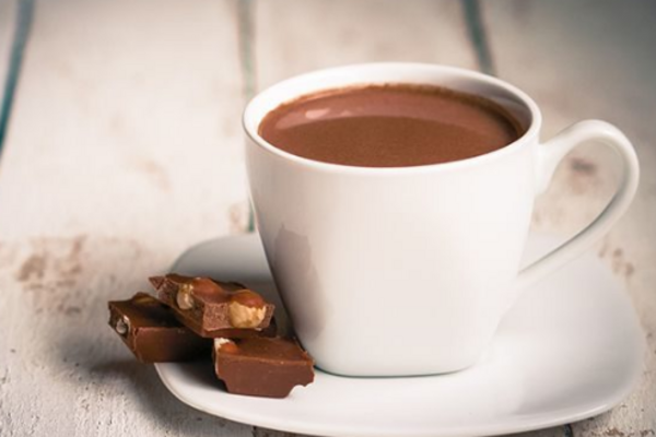 Гарячий шоколад із чорного шоколаду