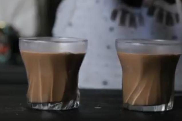 Горячий шоколад с растворимым кофе