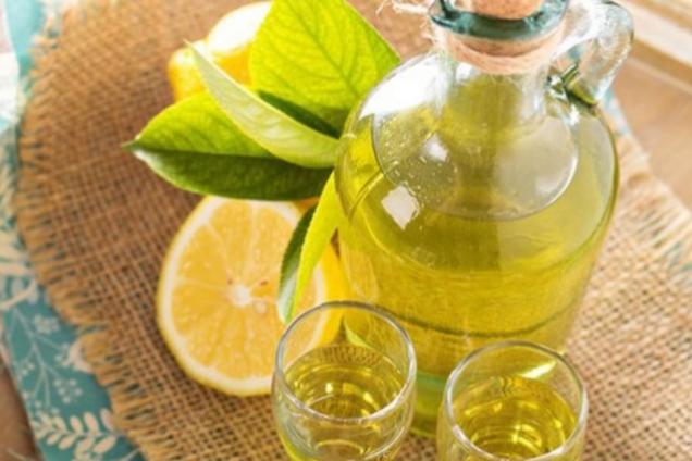 Лимонно-м'ятна настоянка
