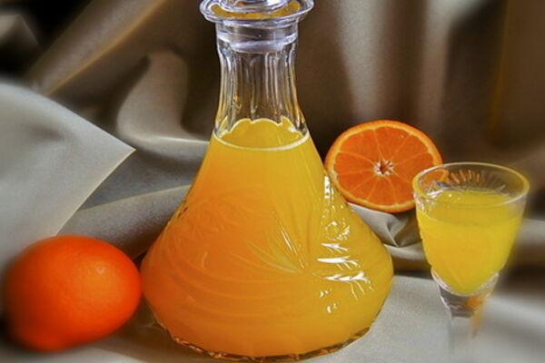 Настоянка на апельсинах