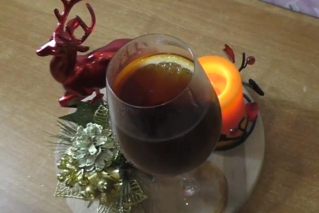 Глинтвейн с апельсином безалкогольный