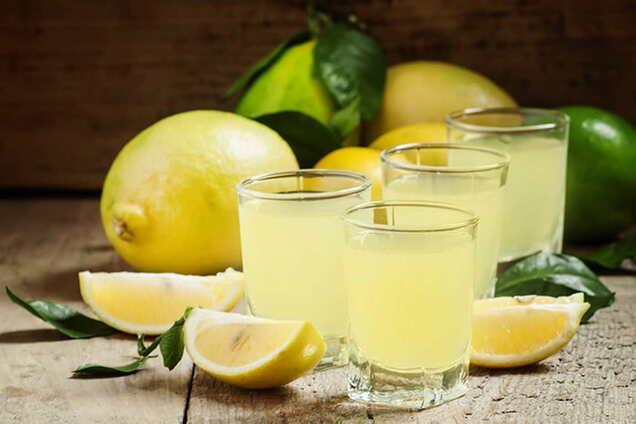 Лимонна настоянка класична