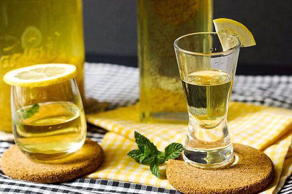 Лимонно-імбирна настоянка
