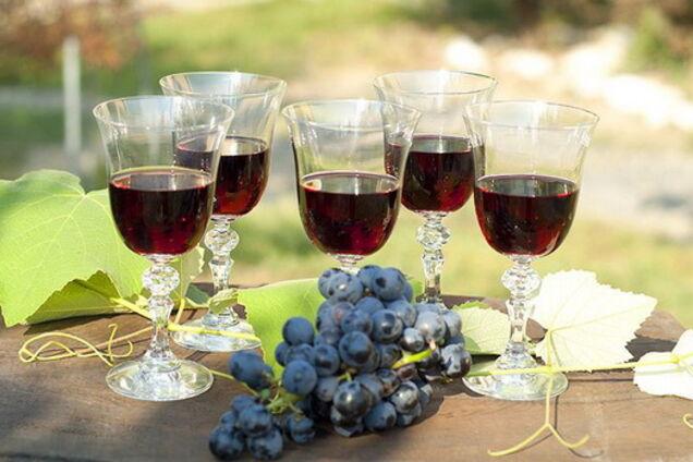Виноградна настоянка на горілці