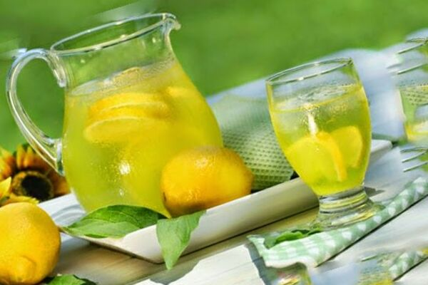 Цитрусовый лимонад без газа