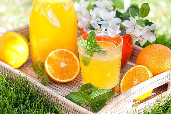 Лимонад из ассорти цитрусовых