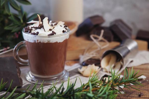 Гарячий шоколад з ''Амаретто''