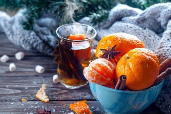 Глінтвейн із мандаринами класичний