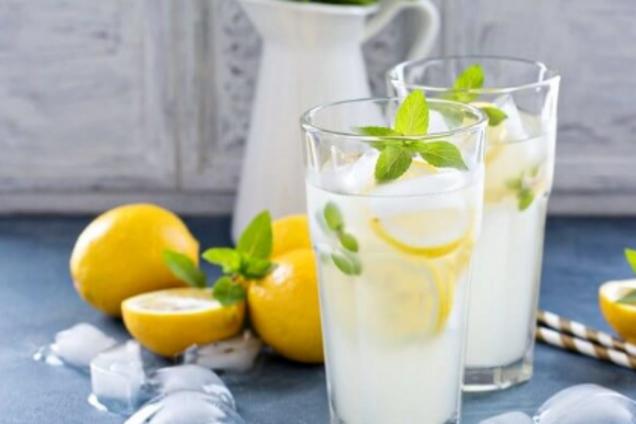 Классический лимонный лимонад