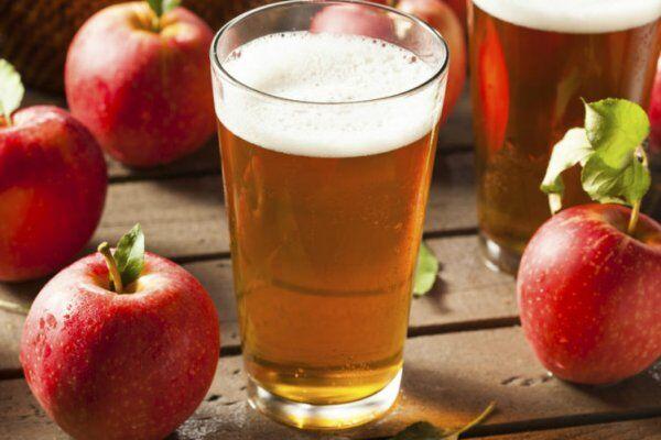 Яблучний сидр із родзинками