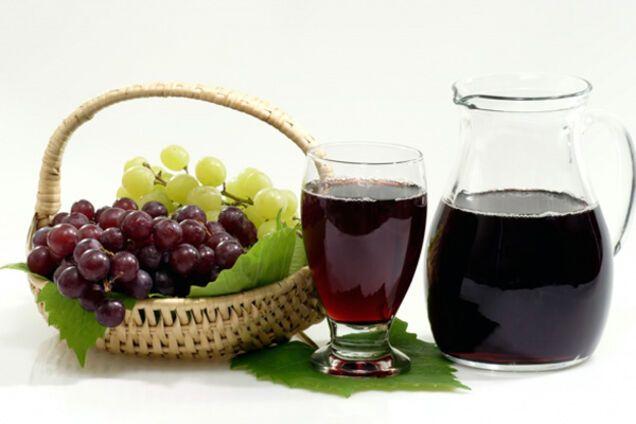 Виноградный сидр из сока