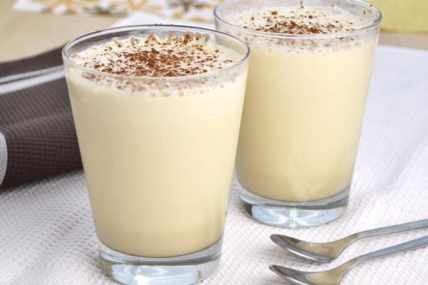 Молочный ликер с коньяком