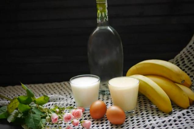 Банановый ликер на водке