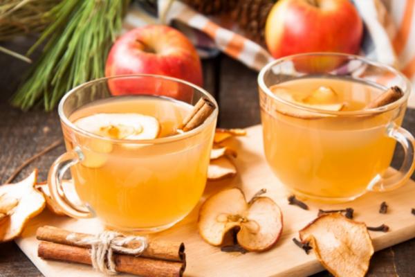 Фруктовый пунш с чаем и медом
