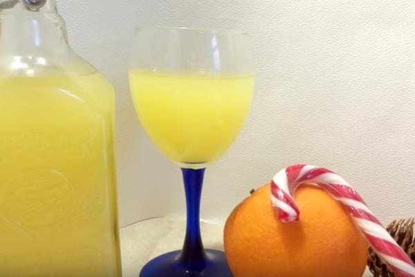 Апельсинова наливка на горілці