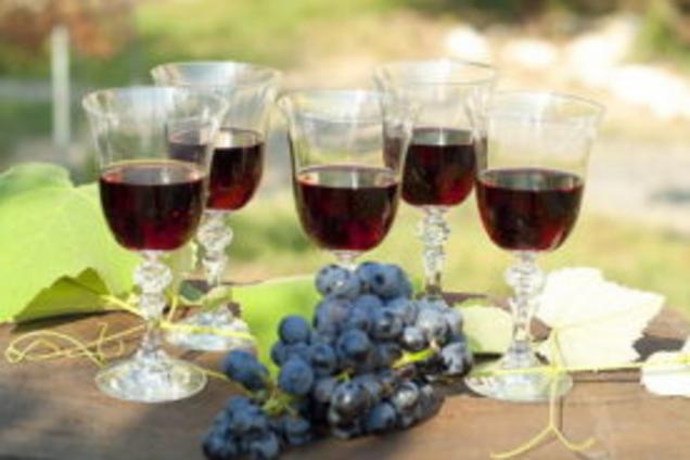 Наливка із винограду