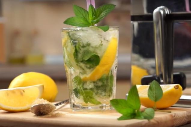 Мохіто з лимоном і ''Спрайтом''