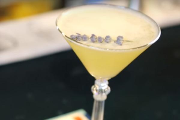 Лавандовий коктейль із ромом