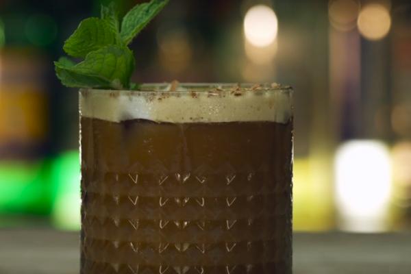 Пивной коктейль с ромом