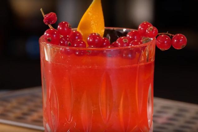 Смородиновый коктейль с ромом