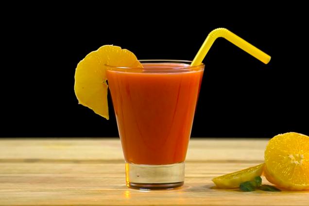 Гранатово-апельсиновый фреш